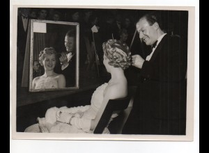 C2062/ Friseur Wettbewerb in Manchester Mr. Carroll Ardedn Foto 1947 20,5 x15 cm