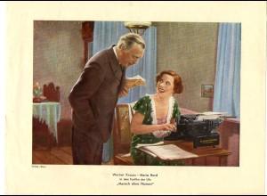 C2268/ Werner Kraus - Maria Bard in Ufa Film Mensch ohne Namen Verlag Ross 1932