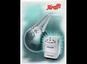 C2251/ Kreft AG Gevelsberg Fernseher Radio Herd Ofen Kühlschrank 1953 Werbung
