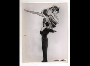 C2667/ Edgar & Amnerys Variete Tanzen Akrobaten Foto 24 x 18 cm ca.1960