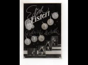 C2661/ Edith Eistert Rythmische Akrobatik Variete Foto 17,5 x 12,5 cm ca.1955-60