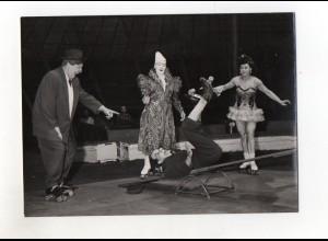 C2692/ H. Mahler Foto, Hamburg Clowns Artisten Foto 18 x 13 cm ca.1955