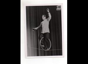 C2682/ Jonny Walker Drahtseil-Artist Foto ca. 1955 18 x 13 cm