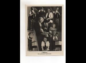 C2684/ 2 Williams aus Weissenfels musikalische Spaßmacher Fotomontage Variete
