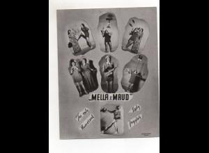 C2686/ Mella & Maud Artisten Variete Foto ca.1950-55 18 x 14 cm