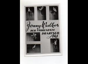 C2691/ Jonny Walker Drahtseil-Artist Foto ca.1955 15,5 x 11 cm