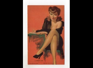 T1827/ Pin Up Erotik Mutoscope Card 1948
