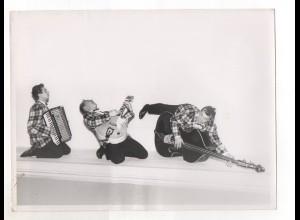 C2201/ Die 3 Karos Parodisten Musik Gesang Variete Foto ca.1955 24 x 18 cm