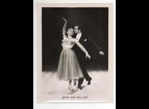 C2199/ Gloria and Jerry York Tänzer Tanzen Variete Foto ca.1955 24x18 cm