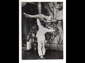 C2198/ Andory & Remy Tanzpaar aus Brasilien Variete Foto ca.1955 24x18 cm