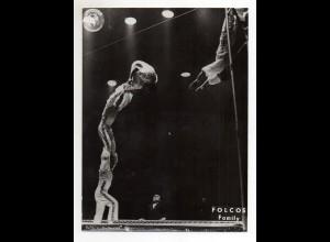 C2195/ Folcos Family Hochseil-Artisten Variete Zirkus Foto ca.1955 24 x 18 cm