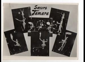 C2193/ Soeurs Tamara Artisten Variete Zirkus Foto ca.1955 24 x18 cm