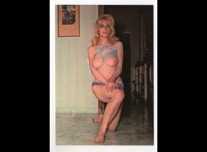 DP158/ Erotik Akt Frau nackt Krüger AK ca.1965
