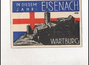 Y4619/ Eisenach Wartburg Reklamemarke Vignette ca.1935