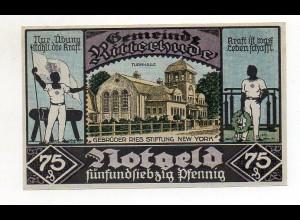 Y4779/ 1 x Notgeld Ritterhude 75 Pfennig 1921