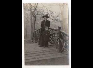 Y5300/ Hamburg Blankenese Wittenbergen Original Foto ca.1910 15 x 10,5 cm