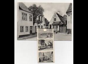 Y5318/ Aabenraa Apenrade AK mit Leporello ca1955 Nordschleswig