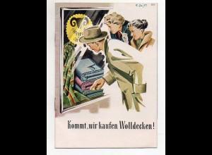Y6298/ Deutsche Wolldecken-Fabrik Heft 12 Seiten 1954