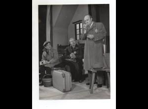"C2461/ Theaterstück ""Tagebuch der Anne Frank"" Foto ca.1955 Judaika"