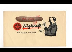 C2420/ Zigarrenkistenetikette / Aufkleber Zugkraft 24 x 14 cm