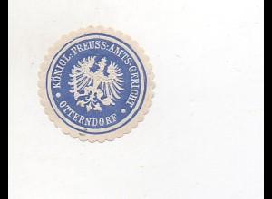Y6092/ Siegelmarke Amtsgericht Otterndorf ca.1910