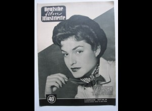 137/ Deutsche Film-Illustrierte Margit Saad Heft Nr. 29/1952