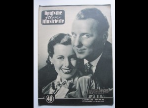 136/ Deutsche Film-Illustrierte Marianne Koch + Georg Thomalla Heft Nr. 28/1952