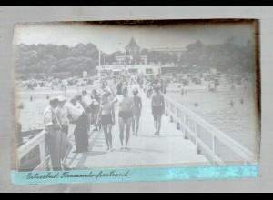 Neg0216/ Timmendorferstrand Original-Negativ 1940/50