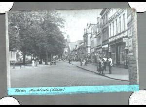 Neg0303/ Heide Marktseite (Süden) Original-Negativ 1940/50