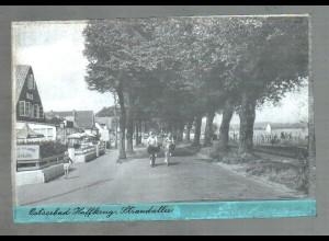 Neg0299/ Ostseebad Haffkrug Strandallee Original-Negativ 1940/50