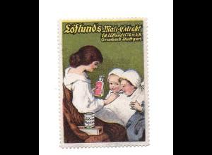 Y7218/ Reklamemarke Löflunds Malz-Extrakt Grunbach-Stuttgart ca.1912