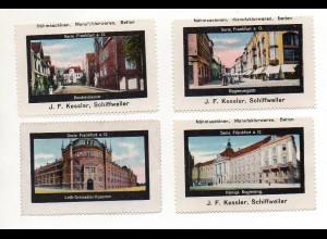 Y7226/ 3 x Reklamemarke Crimmitschau ca.1920