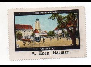 Y7233/ Reklamemarke Herrmannstadt Rumänien ca.1912