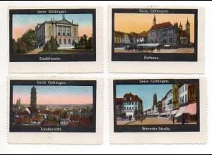 Y7266/ 4 x Reklamemarke Göttingen ca.1920