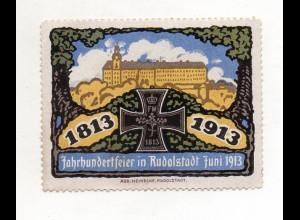 Y7517/ Reklamemarke Rudolstadt Jahrhundertfeier 1813 - 1913