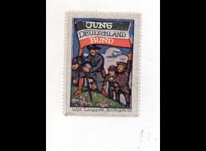 Y7761/ Reklamemarke Jund Deutschland-Bund ca.1915