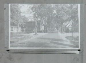 Neg0496/ Hohenlockstedt Straßenmotiv Original-Negativ 60er Jahre