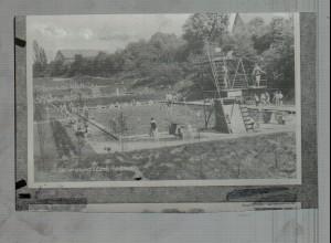Neg0488/ Lauenburg Freibad Bandeanstalt Original-Negativ 60er Jahre