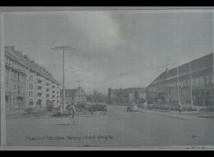 Neg0581/ Husum Herzog-Adolf-Straße Original-Negativ 60er Jahre