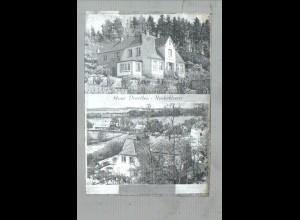 Neg0835/ Niederkleevez Haus Dorothea Original-Negativ 1940/50