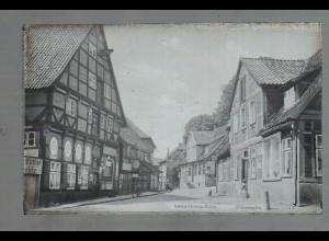 Neg0968/ Lauenburg-Elbe Elbstraße Original Negativ 1940/50