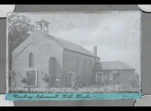 Neg0908/ Hamburg Ochsenzoll Kath. Kirche Original Negativ 1940/50
