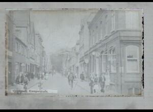 Neg1098/ Glückstadt Kremperstraße Original-Negativ 1940/50 -AK-