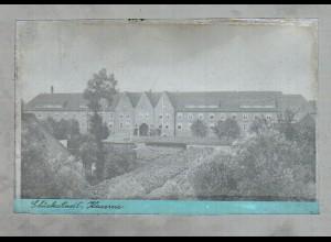 Neg1095/ Glückstadt Kaserne Original-Negativ 1940/50 -AK-