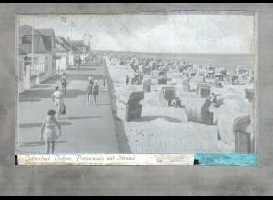 Neg1212/ Dahme Promenade mit Strand Original-Negativ 1940/50