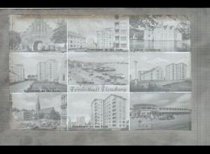 Neg1215/ Fördestadt Flensburg Original-Negativ 1940/50