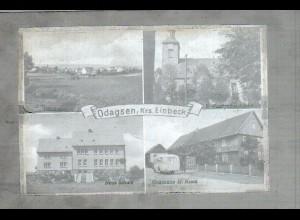 Neg1300/ Odagsen Kreis Einbeck Original-Negativ 1940/50