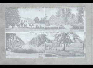 Neg1407/ Gruß aus Seestermühe Original-Negativ 1940/50