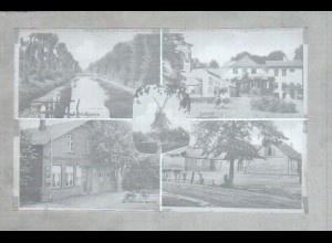 Neg1403/ Seestermühe Mühle Schloß Schule Original-Negativ 1940/50
