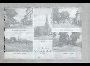 Neg1404/ Gruß aus Schwarzenbek Original-Negativ 1940/50